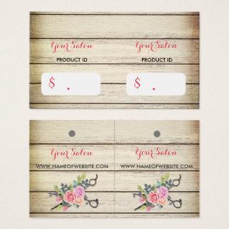 Etiquetas colgantes de madera encantadoras de las