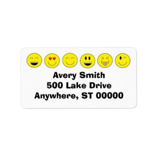 Etiquetas de dirección de Emojis