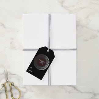 Etiquetas de encargo del regalo - YUNQUE y