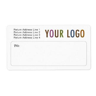 Etiquetas de envío de envío del personalizado con