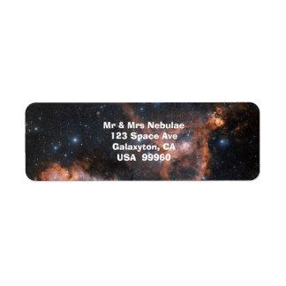 Etiquetas de la astronomía del espacio exterior de