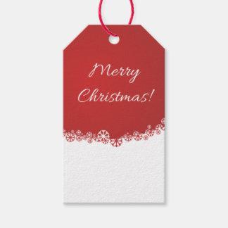 Etiquetas de las Felices Navidad