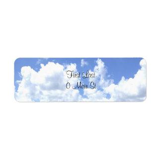 Etiquetas de las nubes