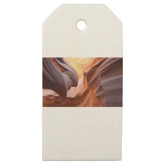 Etiquetas De Madera Para Regalos Barranco Arizona del antílope