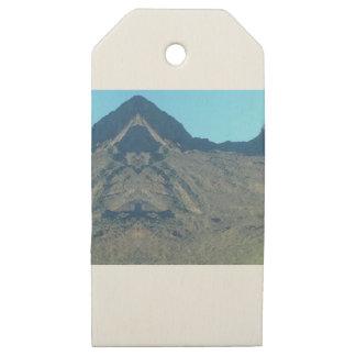 Etiquetas De Madera Para Regalos Buda de la montaña