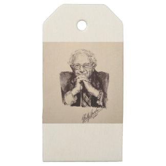 Etiquetas De Madera Para Regalos Chorreadoras de Bernie de Billy Jackson