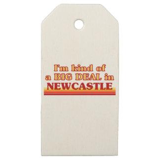 Etiquetas De Madera Para Regalos Clase de I´m de una gran cosa en Newcastle