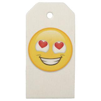 Etiquetas De Madera Para Regalos Envoltorio para regalos de Emoji