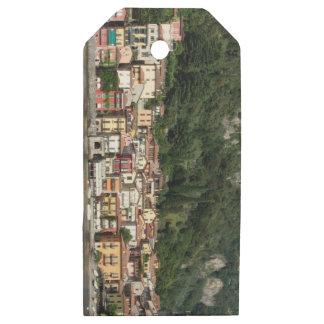 Etiquetas De Madera Para Regalos Lago Como