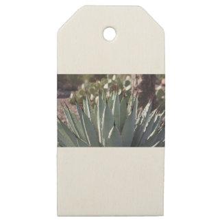 Etiquetas De Madera Para Regalos Puntos del agavo
