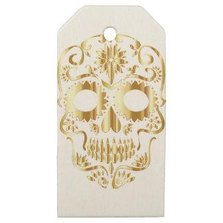 Etiquetas De Madera Para Regalos sugar-skull-1782019