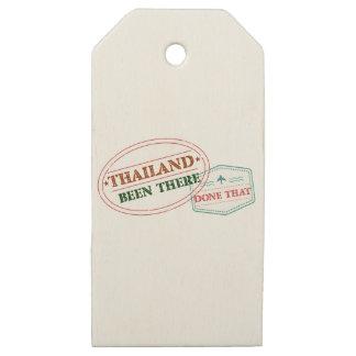 Etiquetas De Madera Para Regalos Tailandia allí hecho eso