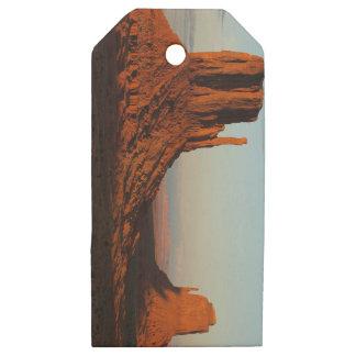 Etiquetas De Madera Para Regalos Valle del monumento, Colorado