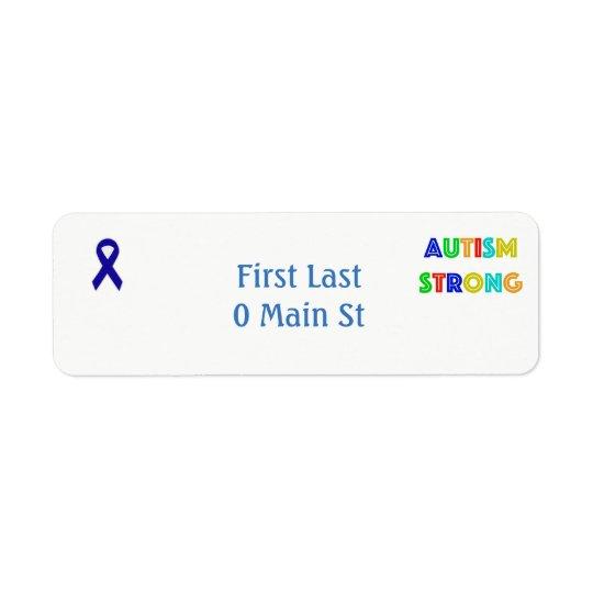 Etiquetas del autismo
