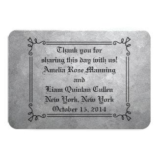 Etiquetas del favor de la bodas de plata comunicados personales