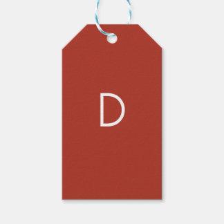 Etiquetas del regalo de D Etiquetas Para Regalos