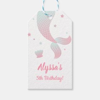 Etiquetas del regalo de la fiesta de cumpleaños de