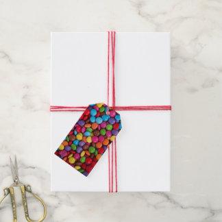 Etiquetas del regalo del caramelo del botón etiquetas para regalos
