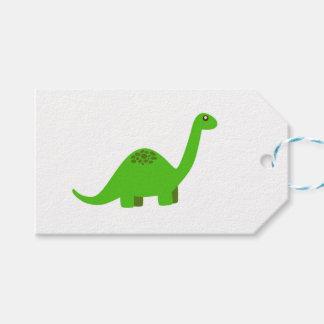 Etiquetas del regalo del dinosaurio etiquetas para regalos