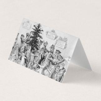 Etiquetas del regalo del navidad para los amantes