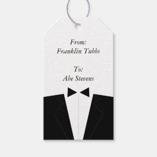 Etiquetas del regalo del padrino de boda