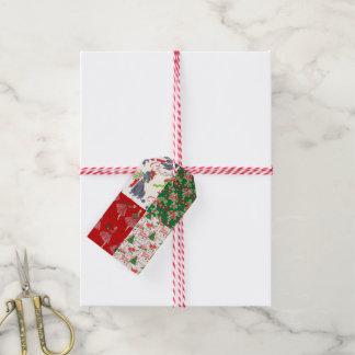 Etiquetas del regalo del papel de embalaje del etiquetas para regalos