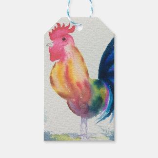 Etiquetas del regalo del pollo etiquetas para regalos