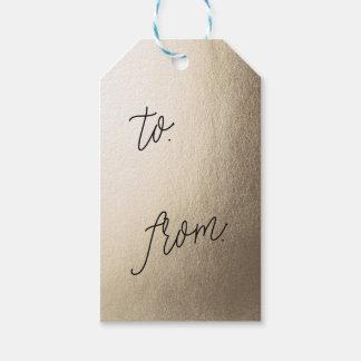 Etiquetas del regalo del presente de la HOJA de Etiquetas Para Regalos