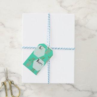 Etiquetas del regalo etiquetas para regalos