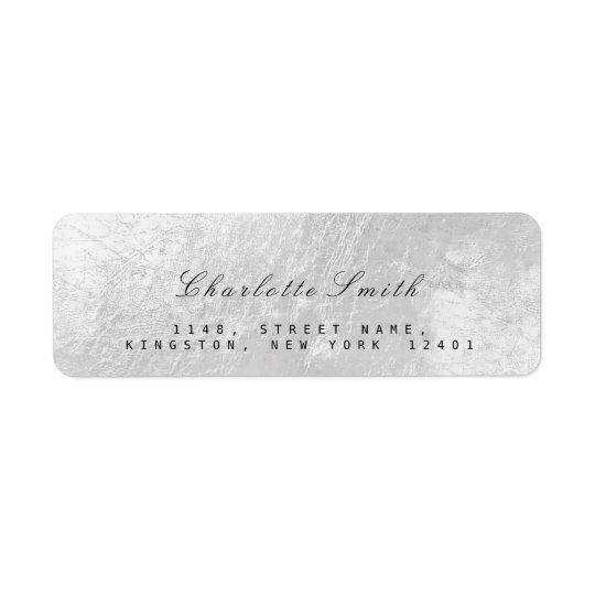 Etiquetas del remite del metal de la hoja de los etiqueta de remite
