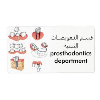 etiquetas dentales