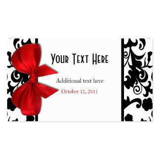 Etiquetas elegantes del regalo de boda tarjetas de visita