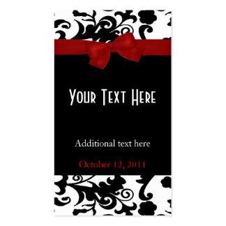 Etiquetas elegantes del regalo de boda plantillas de tarjetas personales