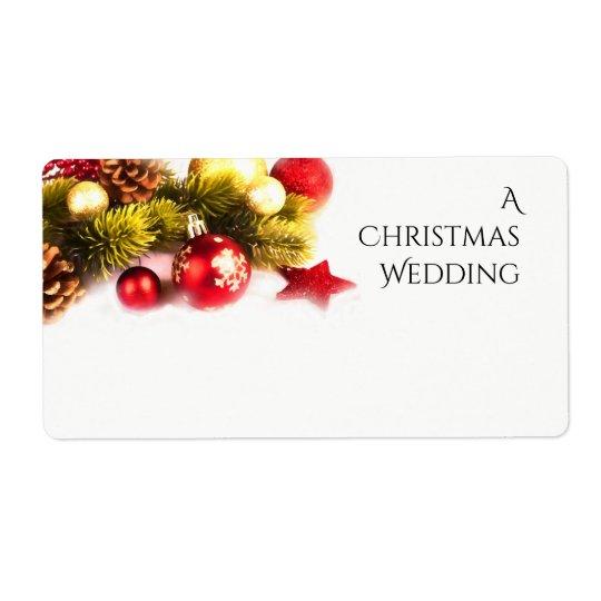 Etiquetas festivas del boda del día de fiesta del