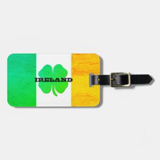 Etiquetas irlandesas del equipaje