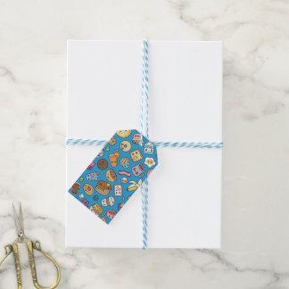 Etiquetas lindas del regalo de la comida de