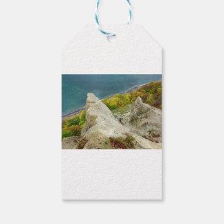 Etiquetas Para Regalos Acantilados de tiza en la isla Ruegen