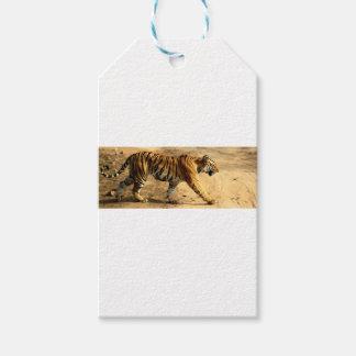 Etiquetas Para Regalos Acecho de Tigres de los alquileres