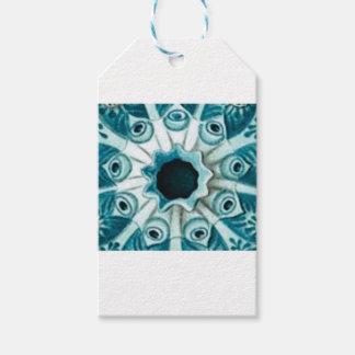 Etiquetas Para Regalos agujero y ojos azules