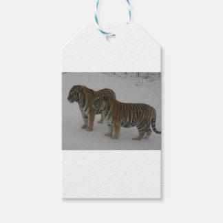 Etiquetas Para Regalos Alquileres dos tigres siberianos
