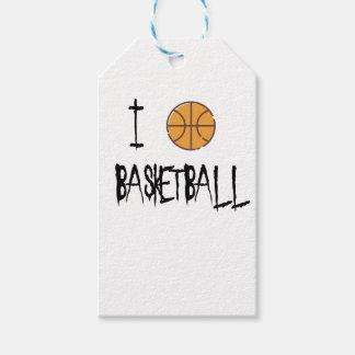 Etiquetas Para Regalos Amo baloncesto