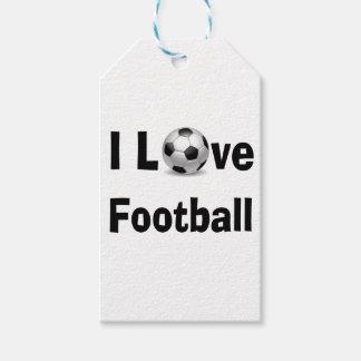 Etiquetas Para Regalos Amo fútbol