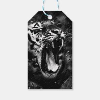 Etiquetas Para Regalos animal del tigre