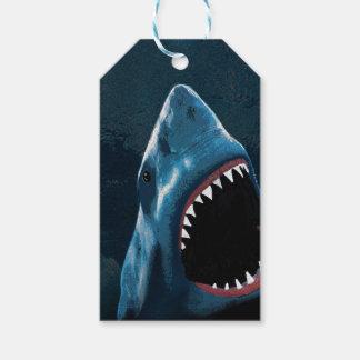 Etiquetas Para Regalos Ataque del tiburón