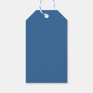 Etiquetas Para Regalos Azul del color del Web del código del maleficio