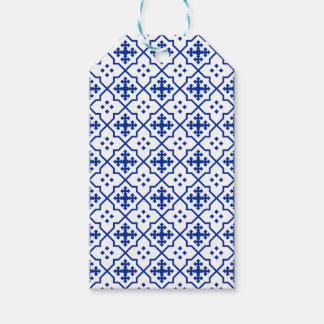 Etiquetas Para Regalos Azul marroquí