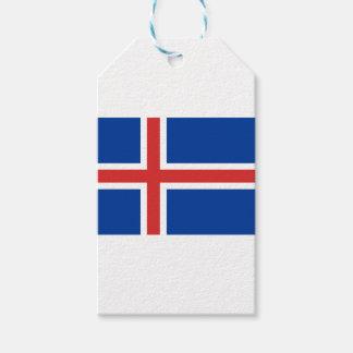 Etiquetas Para Regalos ¡Bajo costo! Bandera de Islandia
