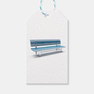 Etiquetas Para Regalos Banco azul