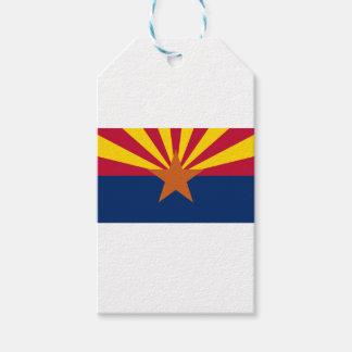 Etiquetas Para Regalos Bandera de Arizona