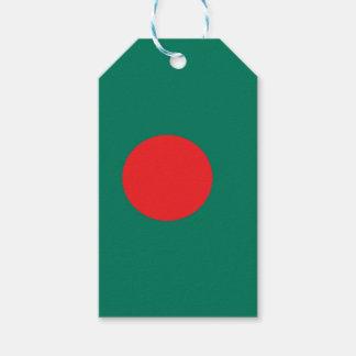 Etiquetas Para Regalos Bandera de Bangladesh